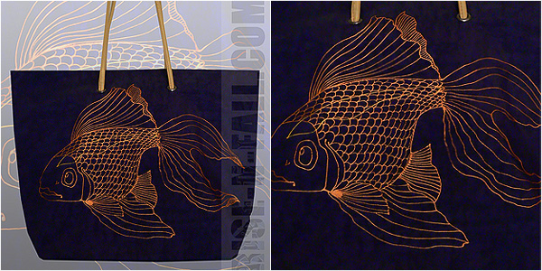 Женская сумка Золотая рыбка