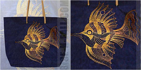 Женская сумка Рыбка